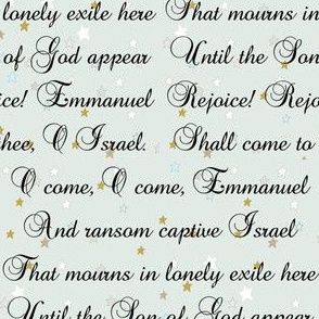 Emmanuel   Christmas Carols   Mint Stars