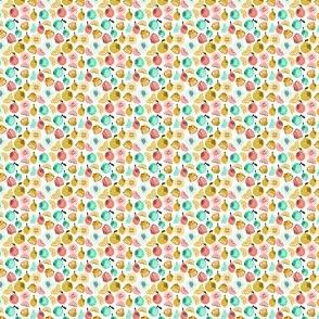 Summer Citrus - Yellow, Red, Green (Mini) by Andrea Lauren