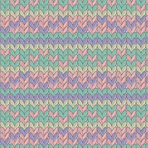 Knitting and Hearts