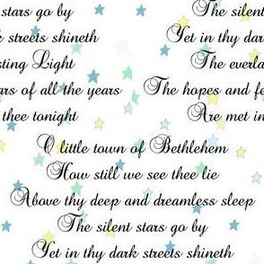 O Little Town of Bethlehem | Christmas Carols | Mint Stars