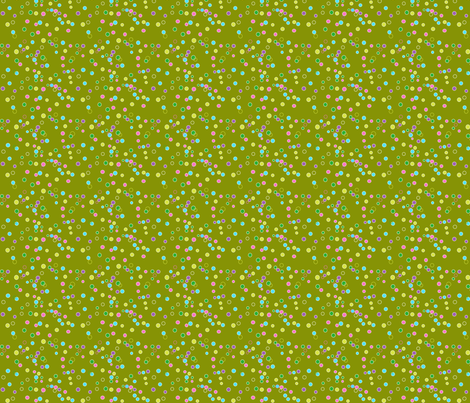 pop-bubbles-in-green fabric by lonna_jordan on Spoonflower - custom fabric