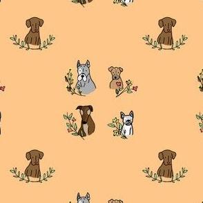 Pup 'N' Florals