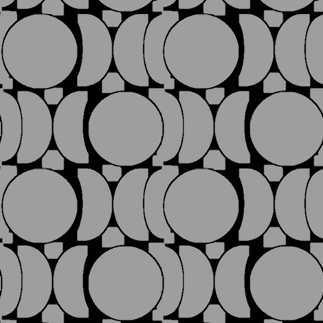 Tesserae (Gray) fabric by david_kent_collections on Spoonflower - custom fabric