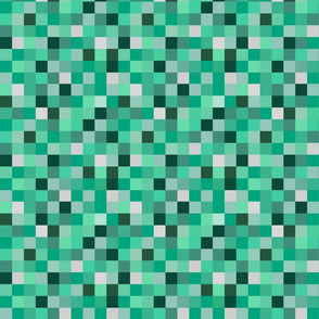 Cyan retro 8 bit digital camo (smaller)