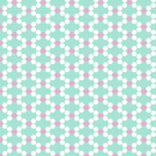 Garland (Green) || Christmas holiday tree diamond polka dot lattice geometric