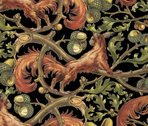 Rsquirrels_in_branches___black____peacoquette_designs___copyright_2015_shop_preview