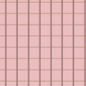 Monkey Business Pink Stripes on Pink