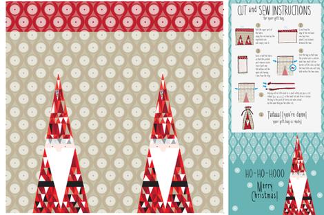 gift bag fabric by zapi on Spoonflower - custom fabric