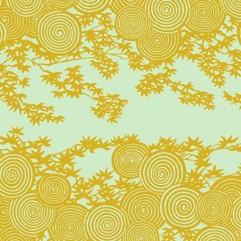 Edo Kimono 1j fabric by muhlenkott on Spoonflower - custom fabric