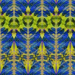 Leaf Diamond chartreuse