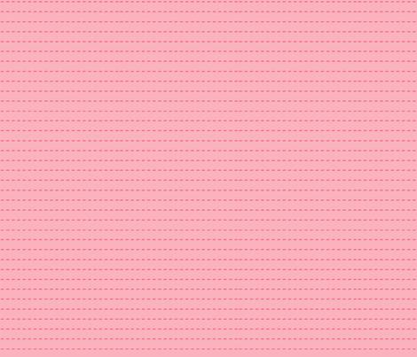 pink stripe fabric by bird&bloom on Spoonflower - custom fabric
