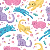 Playful Kittens 02