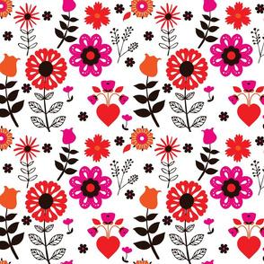 Folk Floral - Brights