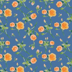 Virginia Roses -Blue