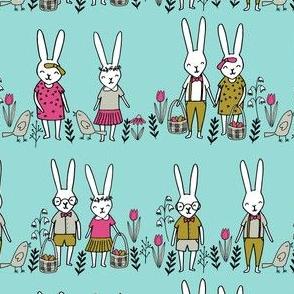 easter egg hunt // bunny rabbit spring easter