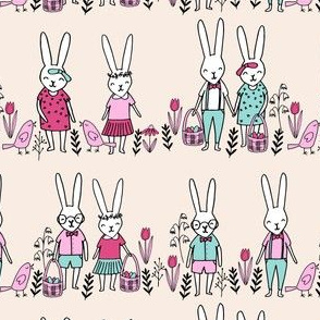 easter egg hunt // bunny rabbit spring easter