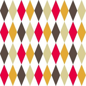 retro kitchen harlequin diamonds
