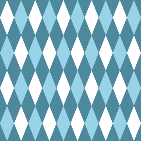 harlequin sailing diamonds fabric by weavingmajor on Spoonflower - custom fabric