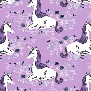 unicorn // girly lilac pastel purple leggigngs