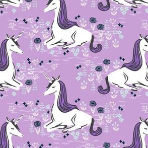 unicorn // girly lilac pastel purple leggigngs
