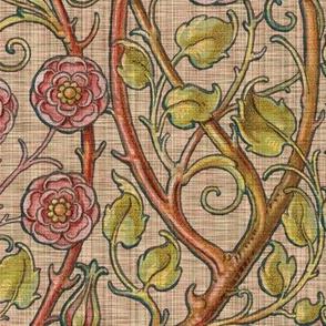 Briar Rose ~ Persephone Linen Luxe