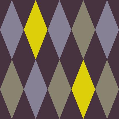 Midsummer night's harlequin - large fabric by weavingmajor on Spoonflower - custom fabric