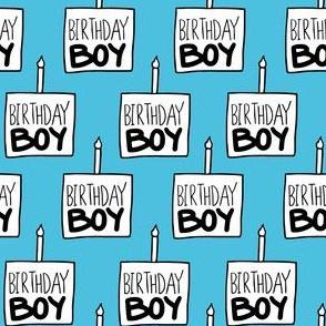 "Birthday Boy Aqua ~1"""