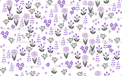 flowers // nursery baby flowers boho