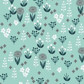 flowers // garden nature mint gender neutral