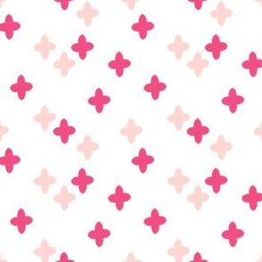 plus // cross pink pastel girly