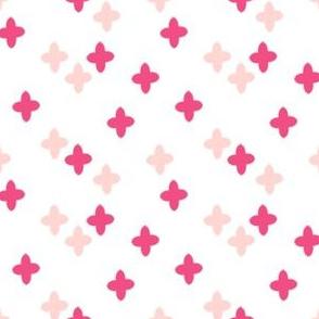 plus // cross pink pastel girly