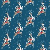 Mid Century Reindeer -  Vintage Christmas