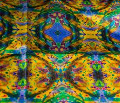 Kiwi & Blue #2 Kaleidoscope