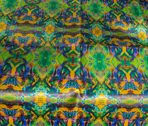 Kiwi Green #1 Kaleidoscope