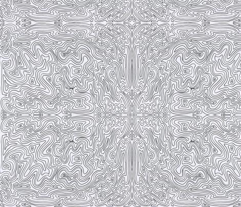 Swirly stripes fabric by aspie_giraffe on Spoonflower - custom fabric