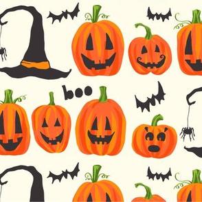 Boo! Halloween coordinate