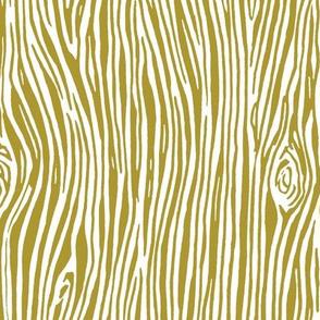 woodgrain // golden olive yellow gender neutral