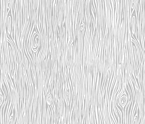 woodgrain // slate grey camping nature gender neutral fabric by andrea_lauren on Spoonflower - custom fabric