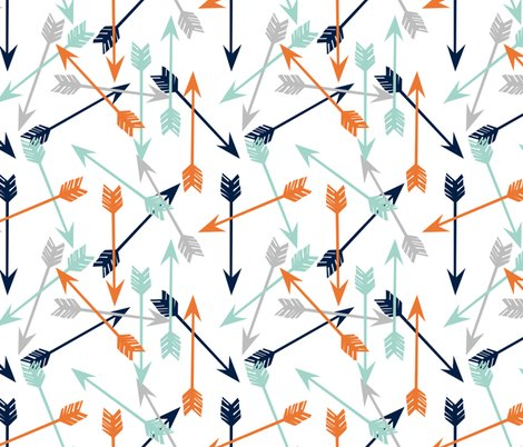 Rarrows_orange_navy_mint_grey_shop_preview