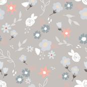 Little blooms grey