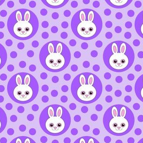 Extra Dotty Bunny Rabbit Polka Dot