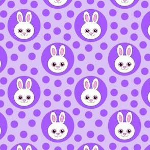 Extra Dotty Bunny Rabbit Polka Dot