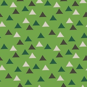 Tent Triangles (Green)
