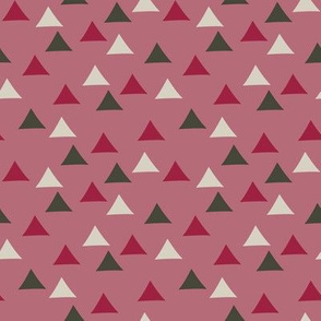 Tent Triangles (Pink)