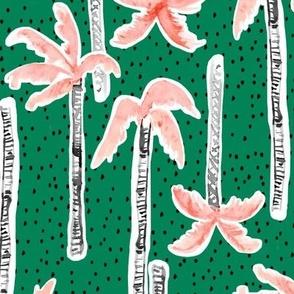 Tropicana Palms (emerald) REGULAR