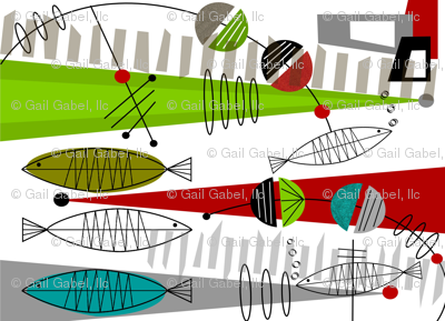 Mid-Century Modern Fish 1