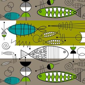 Mid-Century Modern Fish 3