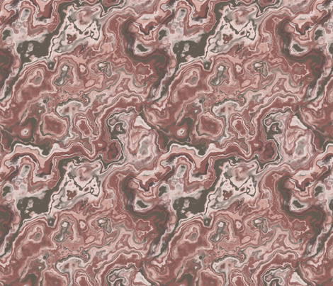marble texture sand red fabric by kociara on Spoonflower - custom fabric