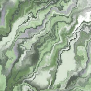 marble texture streaks emerald