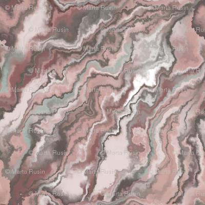 marble texture streaks red